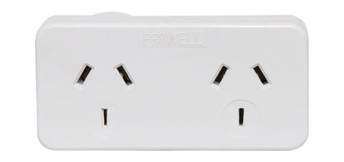 Mains Double Adaptor