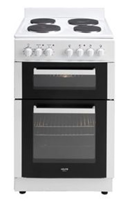 54Cm Electric Freestanding Oven With Grill White