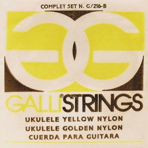 Galli Ukulele Strings (Yellow)