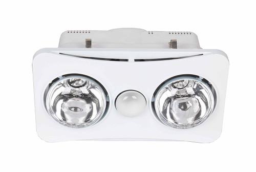 Ardene Duo Bathroom Heater/Light/Exhaust Fan 3-In-1 White