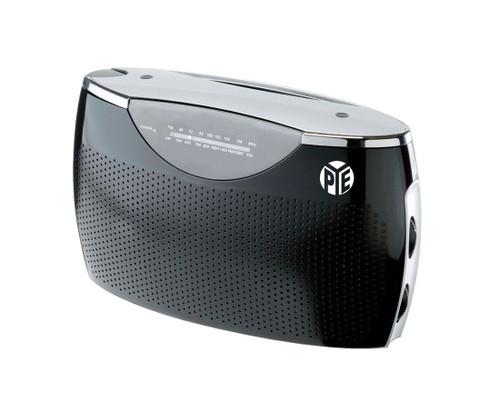 Pye Black Portable Ac/Dc Radio