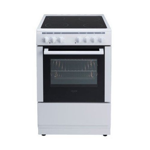 60Cm Freestanding Oven Ceran Cooktop 4 Zones