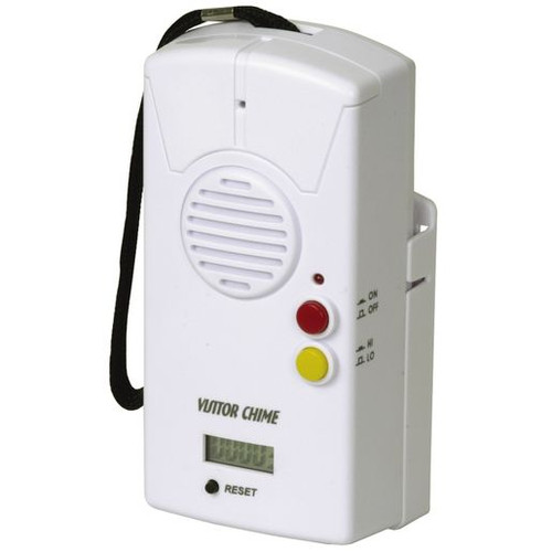 Visitor Door Chime/Alarm With Counter