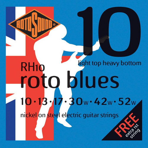 Rotosound 10-52 Blue Electric Guitar Strings