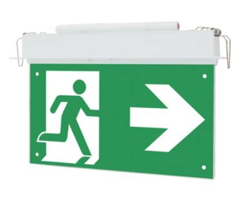 Vblem -Exit Led Maint.Emergency Blade Exit Sign Recessed C0:E1, C90:D1
