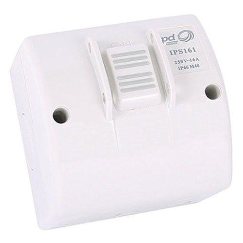 16A 1 Gang Weatherproof Isolator