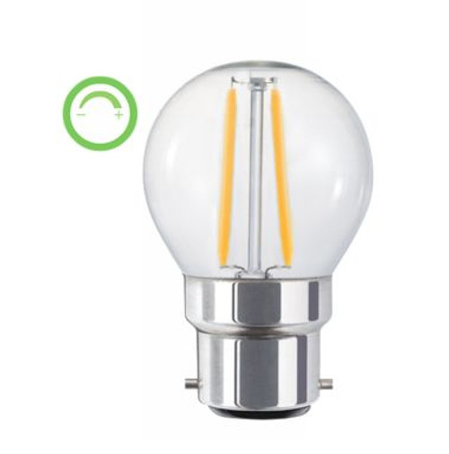 3W Led Bc Dimmable Fancy Round Globe