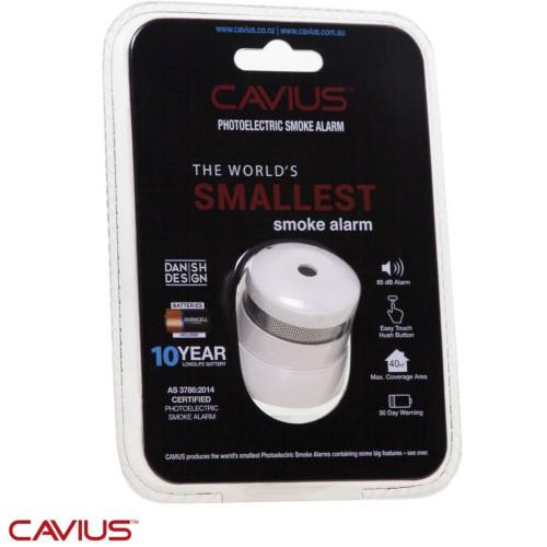 Cavius Photoelectric Smoke Alarm - World's Smallest