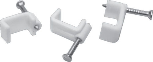 Cable Clips Flat 19Mm (Box 50)