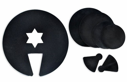 Percussion Plus 7-Piece Drum And Cymbal Mute Set