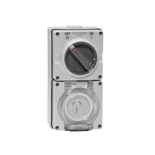 Socket 1 Phase 15A 250Vac