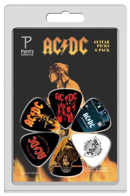 AC/DC Picks #1 Pack of 6