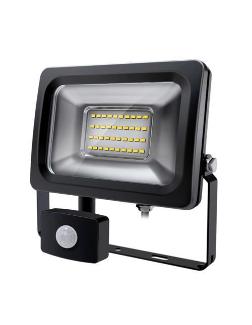 Ensa Commercial 20W 6000K Led Sensor Flood Light
