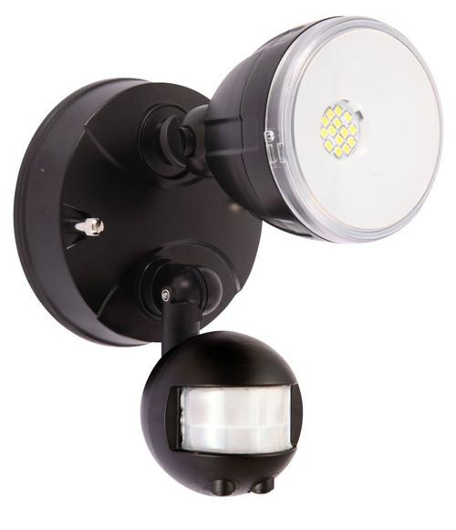 Floodlight Single Sensor Black - Matrix Innovations