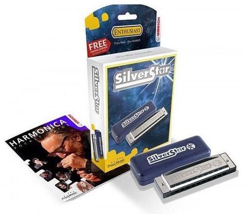 Hohner Silver Star Harmonica Key of A