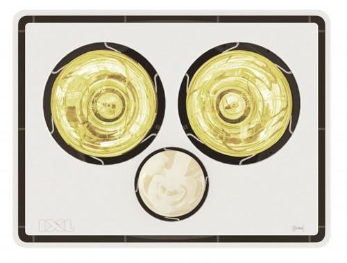 Tastic Vivid 2 In 1 - Bathroom Heater & Light