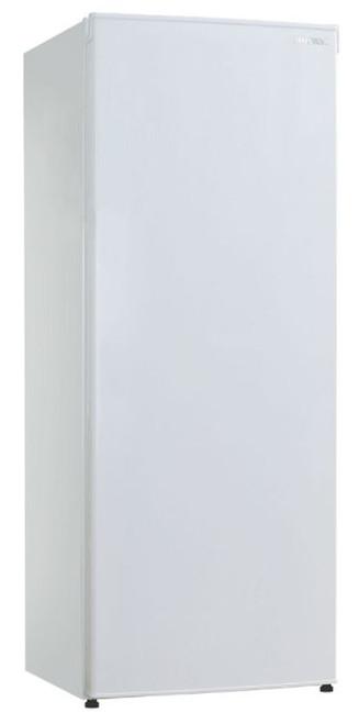 172L Solid Door Vertical Freezer In White