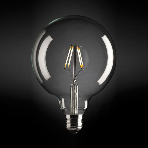 Large Sphere 125 Dimmable Led Fancy Globe E27