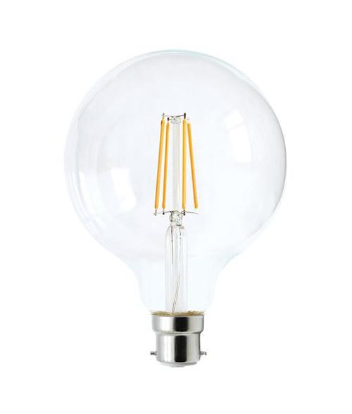 Globe Led Dimm Filament 6W G95 Bc - Cla