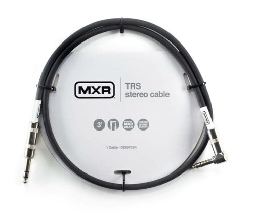 Mxr(R) 3Ft Trs Stereo Cable - Right / Straight