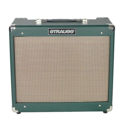 Strauss Svt-20R 20 Watt Combo Valve Amplifier With Reverb (Green)