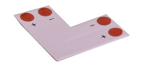 L Shape Strip For Single Colour 5050 Chip Led Strips - 4Pk
