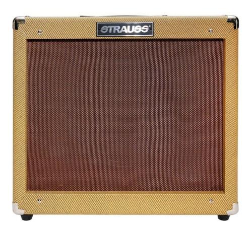 Strauss 'Legacy Vintage' 50 Watt Combo Solid State Guitar Amplifier (Tweed)