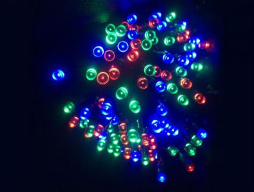 Rgb Solar Powered Christmas Lights 17M Length Vbl