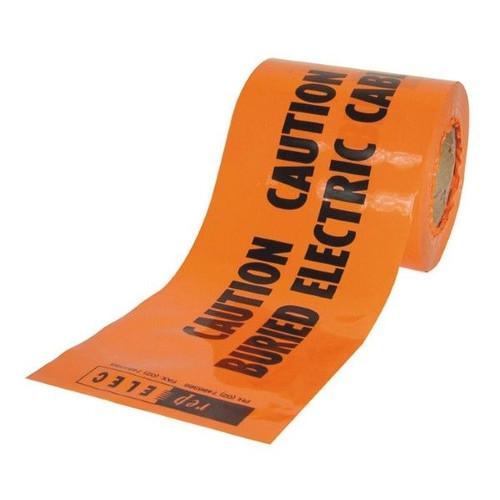 Tape Mains Marker-Non Detect Warning-Elec Cable Orange (Per Metre)