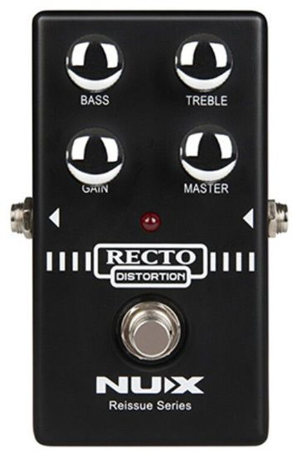 Nu-X Reissue Series Recto Distortion Effects Pedal