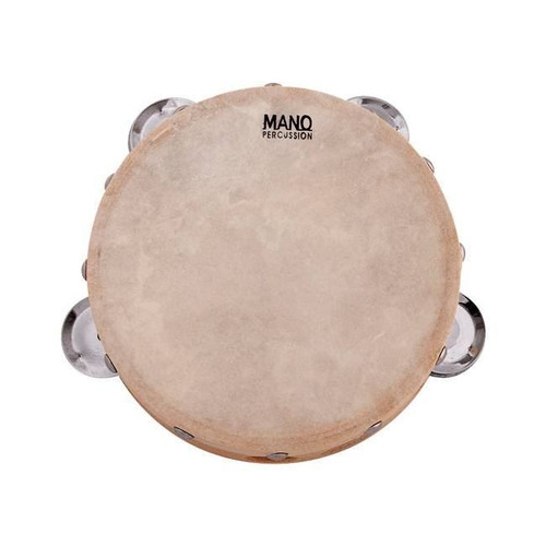 Mano Percussion Ed615 6Inch Head With 4 Pairs Of Jingles