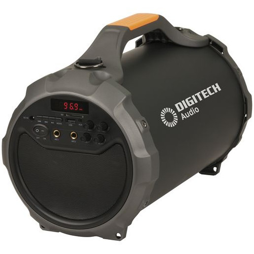 Portable Boom Box With Bluetooth Technology