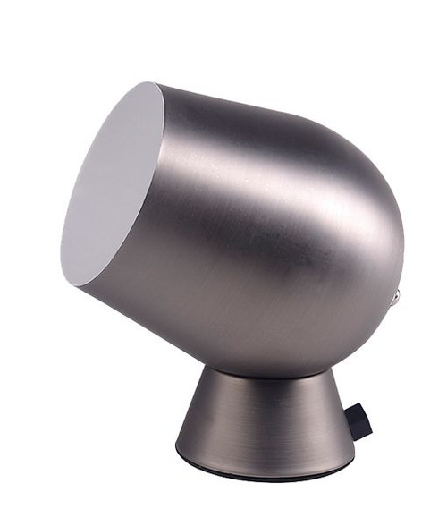 Fokus Table Lamp Touch Pewter