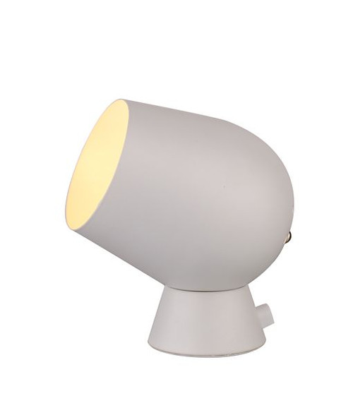 Fokus Table Lamp Touch White