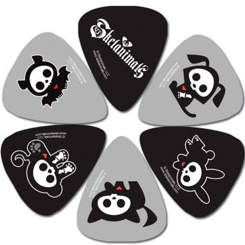 Perris 6-Pack Skelanimals Licensed Guitar Picks Pack