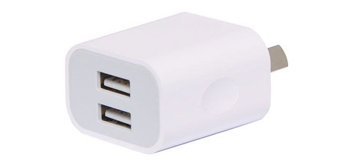 Dual Output 2.4A Usb Wall Charger