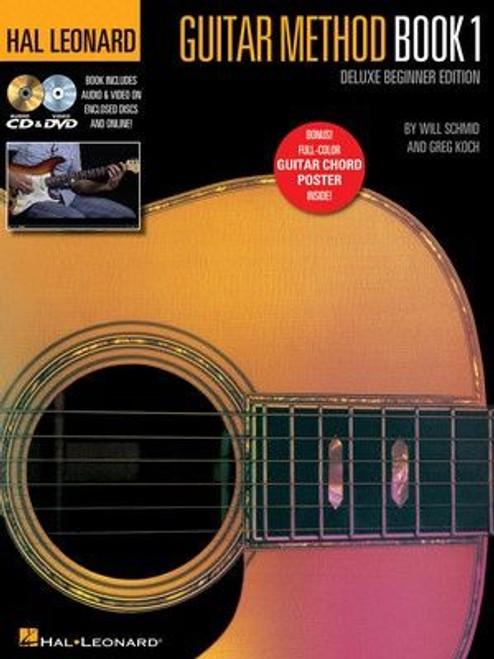 Hal Leonard Guitar Method - Book 1, Deluxe Beginner Edition