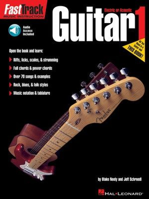 Fast Track Guitar Method - Book 1