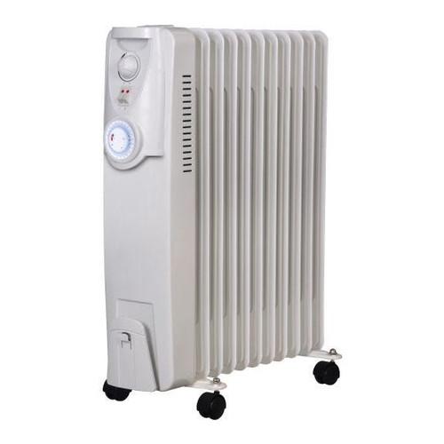 Heller 2400W 11 Fin Oil Heater With Fan & Timer