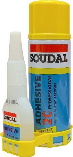 Soudal 2C Adhesive Kit 50Gr/100Ml