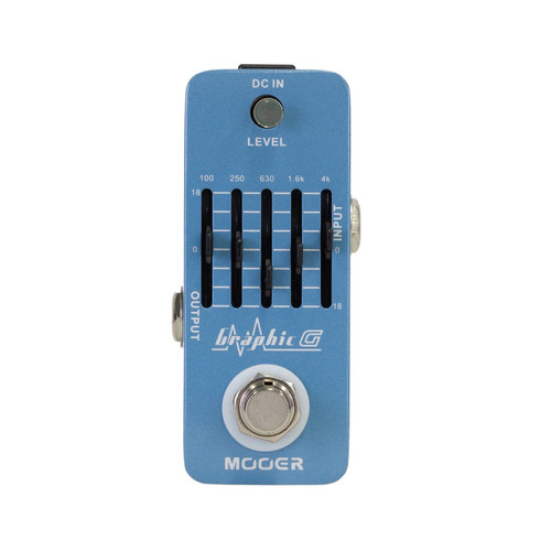 Mooer 'Graphic G' Eq Micro Guitar Effects Pedal