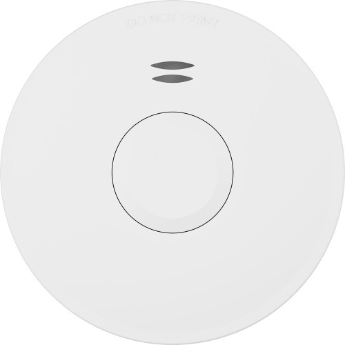 Matelec Surface Mounted Wireless Photoelectric Smoke Alarm With 10 Year Lithium Battery Back Up