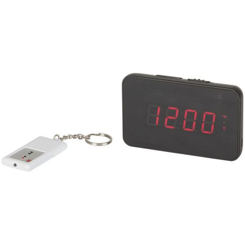 Lcd Clock With Hidden 720P Camera