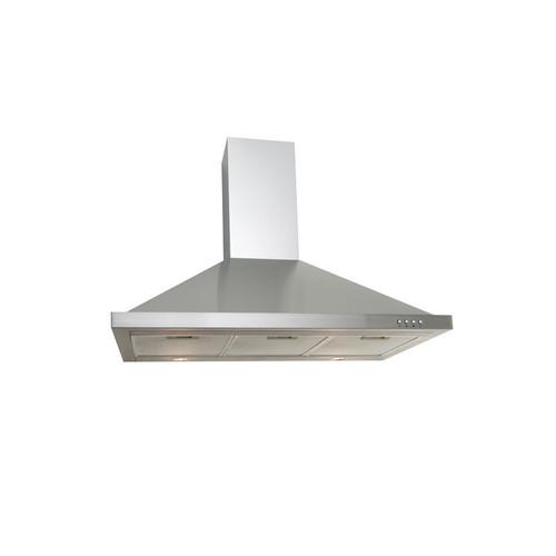 Euro Appliances Ea90Sx 90Cm Stainless Steel Kitchen Canopy