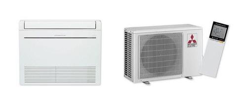 Mitsubishi 6.0Kw Cool 6.8Kw Heat Floor Console Split Inverter Air Conditioner