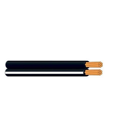 Cable Figure 8 1.5Mm 30/0.25 Black/White (Drum Of 100M)Cable Figure 8 1.5Mm 30/0.25 Black/White (Drum Of 100M)
