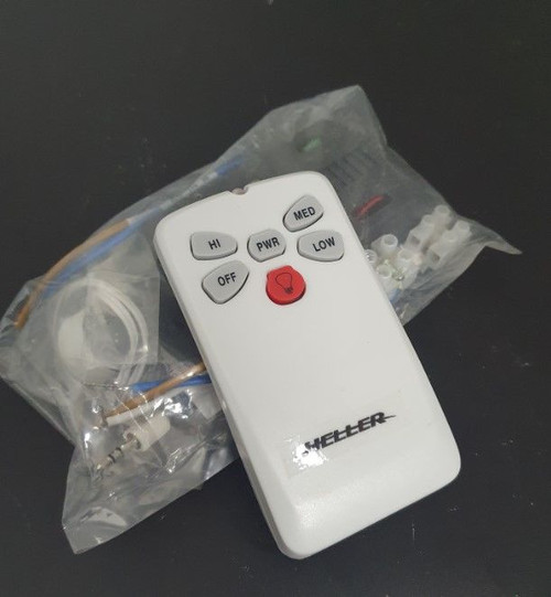 Heller Ceiling Fan Remote Kit White