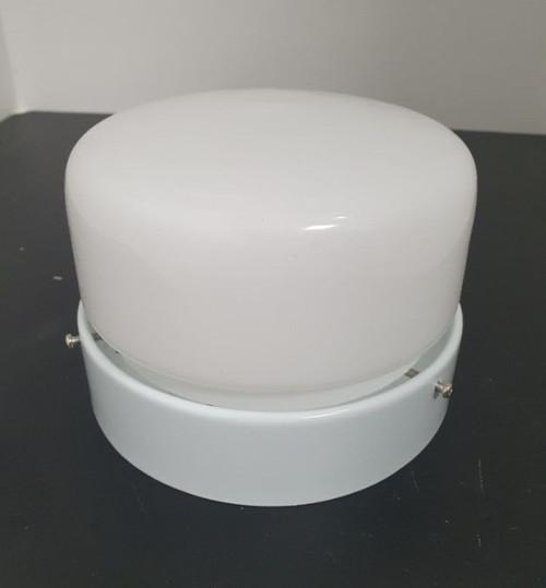 Clipper Light Kit For Ceiling Fan White