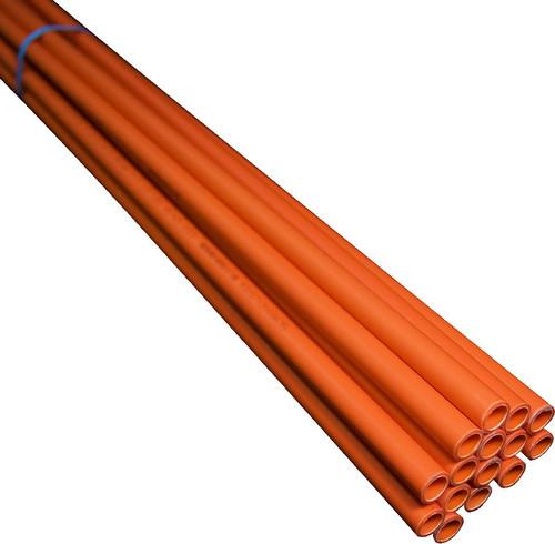 100Mm Orange Rigid Conduit 4M