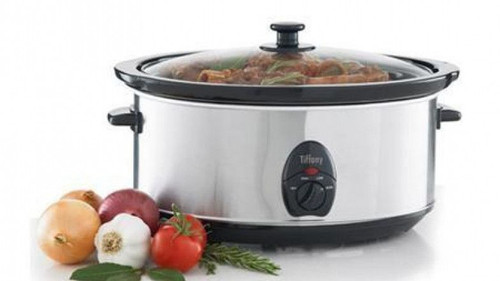 Tiffany 6.5 Slow Cooker Stainless Steel
